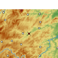 Nearby Forecast Locations - Yuping - Map
