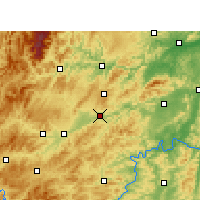 Nearby Forecast Locations - Xinhuang - Map