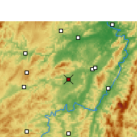 Nearby Forecast Locations - Zhijiang - Map