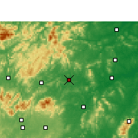 Nearby Forecast Locations - Loudi - Map