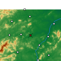 Nearby Forecast Locations - Xinyu - Map