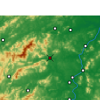Nearby Forecast Locations - Anfu - Map