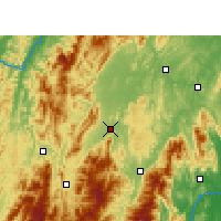 Nearby Forecast Locations - Wugang - Map
