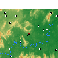 Nearby Forecast Locations - Qidong - Map