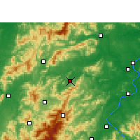 Nearby Forecast Locations - Yongxin - Map