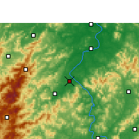 Nearby Forecast Locations - Wan'an - Map