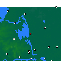 Nearby Forecast Locations - Gaoyou - Map