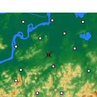 Nearby Forecast Locations - Nanling - Map