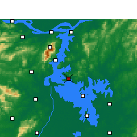 Nearby Forecast Locations - Duchang - Map
