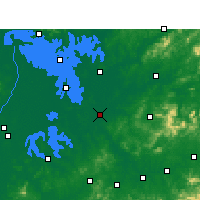 Nearby Forecast Locations - Yugan - Map