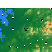 Nearby Forecast Locations - Wannian - Map
