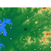Nearby Forecast Locations - Leping - Map
