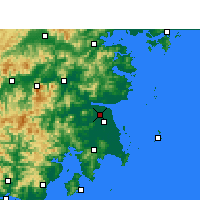Nearby Forecast Locations - Hongjia - Map
