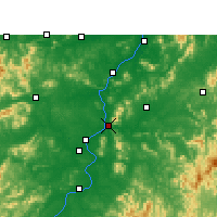 Nearby Forecast Locations - Jishui - Map