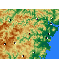 Nearby Forecast Locations - Wencheng - Map