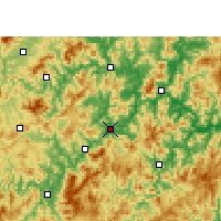 Nearby Forecast Locations - Sha - Map
