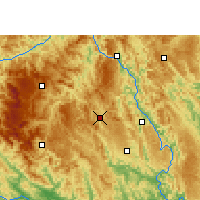 Nearby Forecast Locations - Fengshan - Map