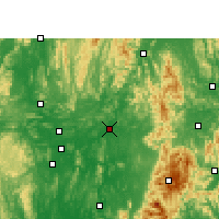 Nearby Forecast Locations - Luan - Map