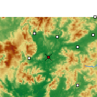 Nearby Forecast Locations - Shaoguan - Map