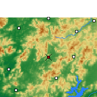Nearby Forecast Locations - Wengyuan - Map