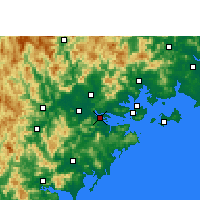 Nearby Forecast Locations - Longhai - Map