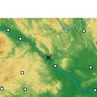 Nearby Forecast Locations - Pingguo - Map