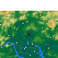 Nearby Forecast Locations - Huadu - Map