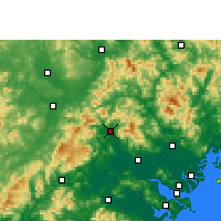 Nearby Forecast Locations - Fengshun - Map