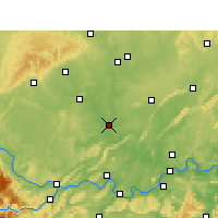 Nearby Forecast Locations - Fushun - Map
