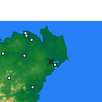 Nearby Forecast Locations - Wenchang - Map