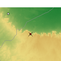 Nearby Forecast Locations - Nalut - Map