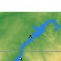Nearby Forecast Locations - Abu Simbel - Map