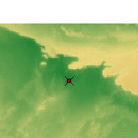 Nearby Forecast Locations - Dakhla Oasis - Map