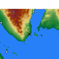 Nearby Forecast Locations - Sharm el-Sheikh - Map