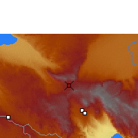 Nearby Forecast Locations - Mbeya - Map