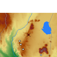 Nearby Forecast Locations - Makoka - Map