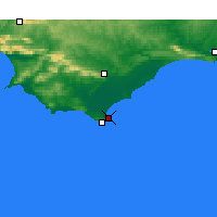 Nearby Forecast Locations - Struisbaai - Map