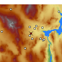 Nearby Forecast Locations - Las Vegas - Map