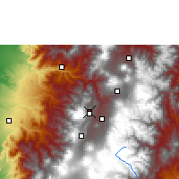 Nearby Forecast Locations - Quito - Map