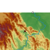 Nearby Forecast Locations - Tarapoto - Map