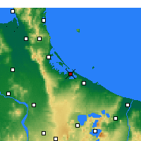 Nearby Forecast Locations - Tauranga - Map