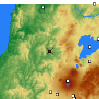 Nearby Forecast Locations - Taumarunui - Map