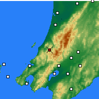 Nearby Forecast Locations - Paraparaumu - Map