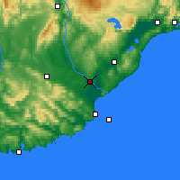Nearby Forecast Locations - Balclutha - Map