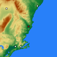Nearby Forecast Locations - Palmerston - Map