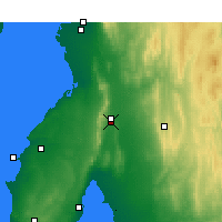 Nearby Forecast Locations - Snowtown - Map