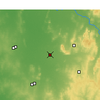 Nearby Forecast Locations - Quandialla - Map