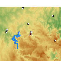 Nearby Forecast Locations - Mudgee - Map