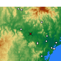 Nearby Forecast Locations - Singleton - Map
