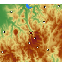 Nearby Forecast Locations - Mount Beauty - Map